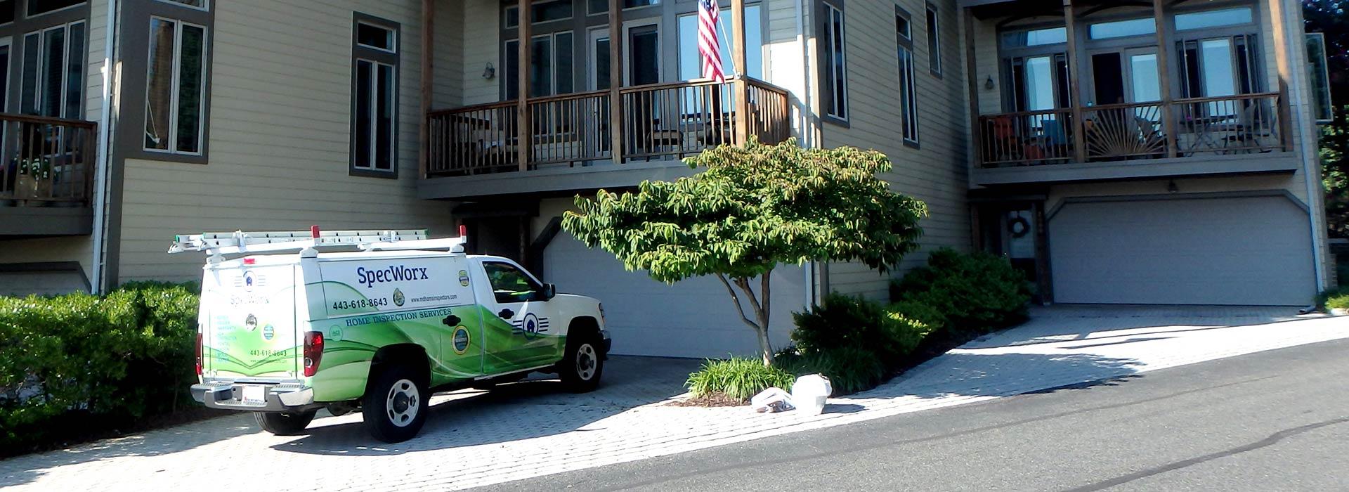 Maryland Home Inspection SPECWORX Truck